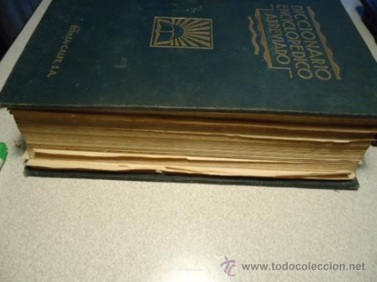 Diccionarios antiguos: DICCIONARIO ENCICLOPÉDICO ABREVIADO, TERCERA EDICIÓN ESPASA CALPE S.A 1935 - Foto 10 - 37971349
