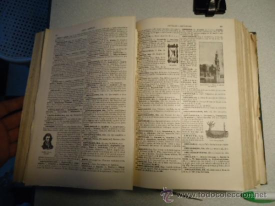 Diccionarios antiguos: DICCIONARIO ENCICLOPÉDICO ABREVIADO, TERCERA EDICIÓN ESPASA CALPE S.A 1935 - Foto 8 - 37971349