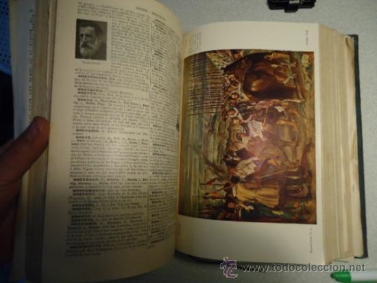 Diccionarios antiguos: DICCIONARIO ENCICLOPÉDICO ABREVIADO, TERCERA EDICIÓN ESPASA CALPE S.A 1935 - Foto 6 - 37971349