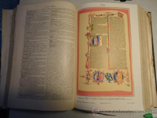 Diccionarios antiguos: DICCIONARIO ENCICLOPÉDICO ABREVIADO, TERCERA EDICIÓN ESPASA CALPE S.A 1935 - Foto 5 - 37971349