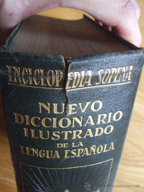 Diccionarios antiguos: DICCIONARIO ILUSTRADO SOPENA 1930. 2 tomos - Foto 10 - 38605883