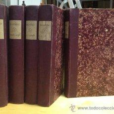 Diccionarios antiguos: 1890.- NOVISIMO DICCIONARIO POPULAR ILUSTRADO DE LA LENGUA CASTELLANA. 5 TOMOS. COMPLETO.. Lote 38915786