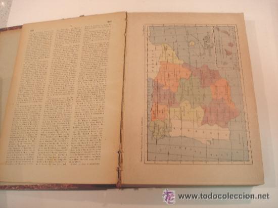 Diccionarios antiguos: 1890.- NOVISIMO DICCIONARIO POPULAR ILUSTRADO DE LA LENGUA CASTELLANA. 5 TOMOS. COMPLETO. - Foto 3 - 38915786