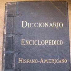 Diccionarios antiguos: DICCIONARIO ENCICLOPEDICO HISPANO-AMERICANO. MONTANER Y SIMON. TOMO 16 - AÑO 1895.. Lote 39078761