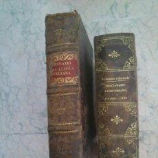 Diccionarios antiguos: 2 DICCIONARIOS ANTIGUOS DE LENGUA CASTELLANA DE 1822 Y 1866. Lote 39077249