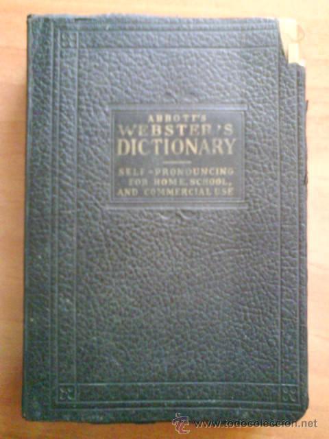 WEBSTER´S DICTIONARY OF THE ENGLISH LENGUAGE (Libros Antiguos, Raros y Curiosos - Diccionarios)