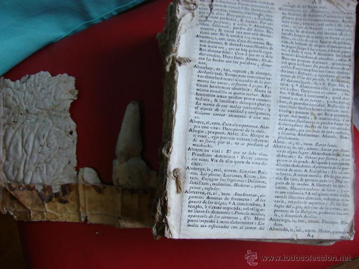 Diccionarios antiguos: COMPENDIUM LATINO-HISPANUM. SIGLO XVII-XVIII - Foto 2 - 40834956