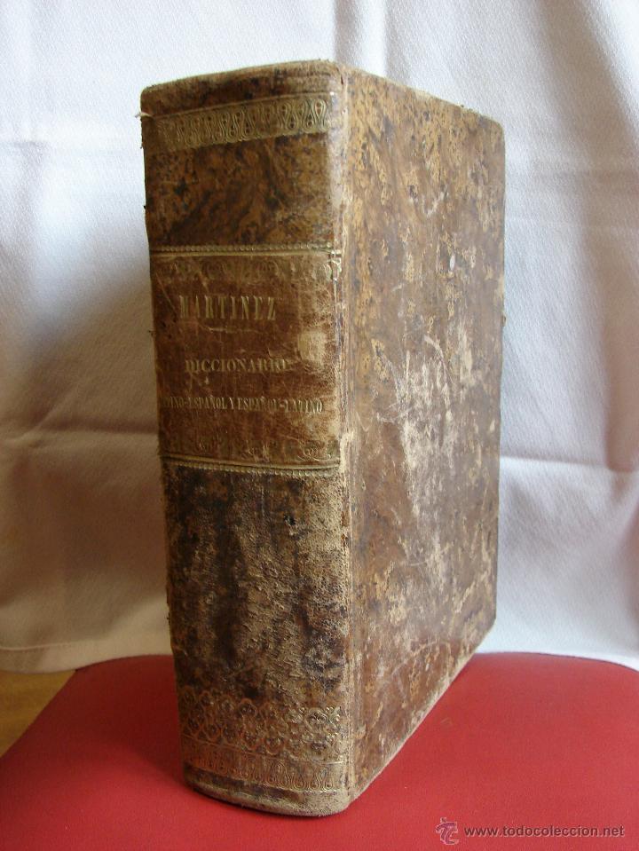 VALBUENA REFORMADO. DICCIONARIO LATINO-ESPAÑOL. 1853. MARTINEZ LOPEZ (Libros Antiguos, Raros y Curiosos - Diccionarios)