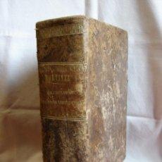 Diccionarios antiguos: VALBUENA REFORMADO. DICCIONARIO LATINO-ESPAÑOL. 1853. MARTINEZ LOPEZ. Lote 40844740