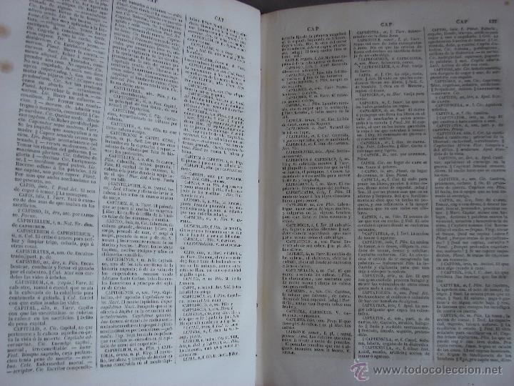 Diccionarios antiguos: VALBUENA REFORMADO. DICCIONARIO LATINO-ESPAÑOL. 1853. MARTINEZ LOPEZ - Foto 4 - 40844740