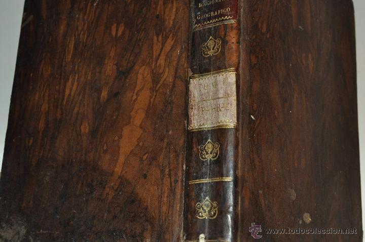 Diccionarios antiguos: Diccionario Geográfico-Estadístico de España y Portugal, de dicado al rey Nuestro Señor. RM64097 - Foto 2 - 40942447