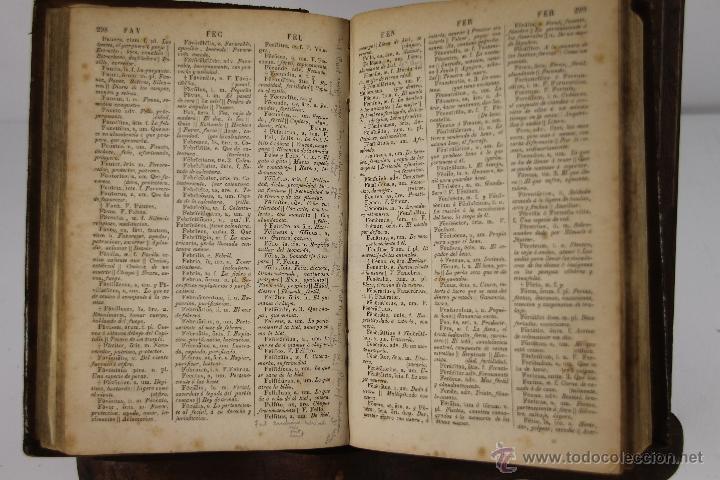 Diccionarios antiguos: 4201- DICCIONARIO ESPAÑOL LATINO / LATINO ESPAÑOL. NOVISIMO VALBUENA. 1865/66.2 TOMOS. - Foto 3 - 40990522