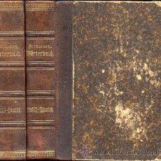 Diccionarios antiguos: DICCIONARIO ALEMÁN-ESPAÑOL Y ESPAÑOL-ALEMÁN – AÑO 1884. Lote 41256699