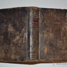 Diccionarios antiguos: NOUVEAU DICTIONNAIRE DE POCHE FRANÇOIS – ESPAGNOL. L'ABBÉ GATTEL RM64830. Lote 41670036