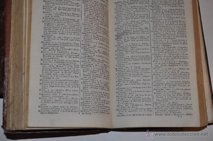 Diccionarios antiguos: Dictionnaire Portatif et de Prononciation, Espagnol-Français J. L. BARTHELEMI CORMON RM64826-V - Foto 4 - 41670206