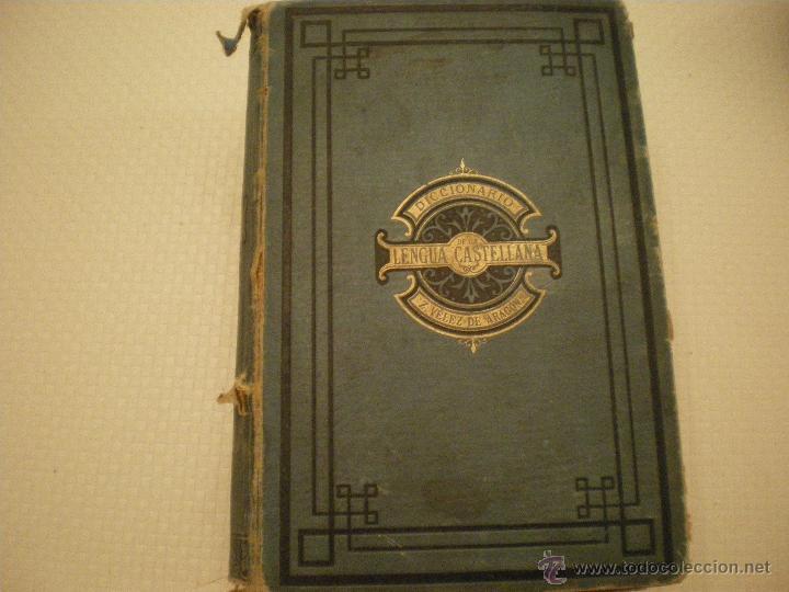 DICCIONARIO DE LA LENGUA CASTELLANA DE Z. VELEZ DE ARAGON (Libros Antiguos, Raros y Curiosos - Diccionarios)