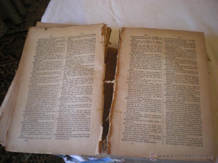 Diccionarios antiguos: DICCIONARIO DE LA LENGUA CASTELLANA DE Z. VELEZ DE ARAGON - Foto 5 - 42415100