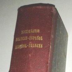 Diccionarios antiguos: DICCIONARIO FRANCÉS-ESPAÑOL, ESPAÑOL-FRANCÉS. PARÍS LIBRERÍA DE GARNIER HERMANOS 1880. Lote 43839969