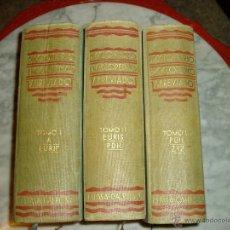 Diccionarios antiguos: DICCIONARIO ENCICLOPEDICO ABREVIADO. Lote 43883623