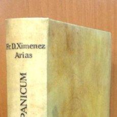 Diccionarios antiguos: LEXICON ECCLESIASTICUM LATINO-HISPANICUM, EX SACRIS BIBLIIS... 1792. . Lote 43991312