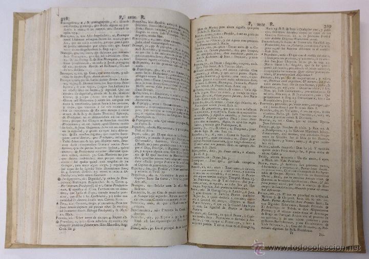 Diccionarios antiguos: LEXICON ECCLESIASTICUM LATINO-HISPANICUM, EX SACRIS BIBLIIS... 1792. - Foto 5 - 43991312