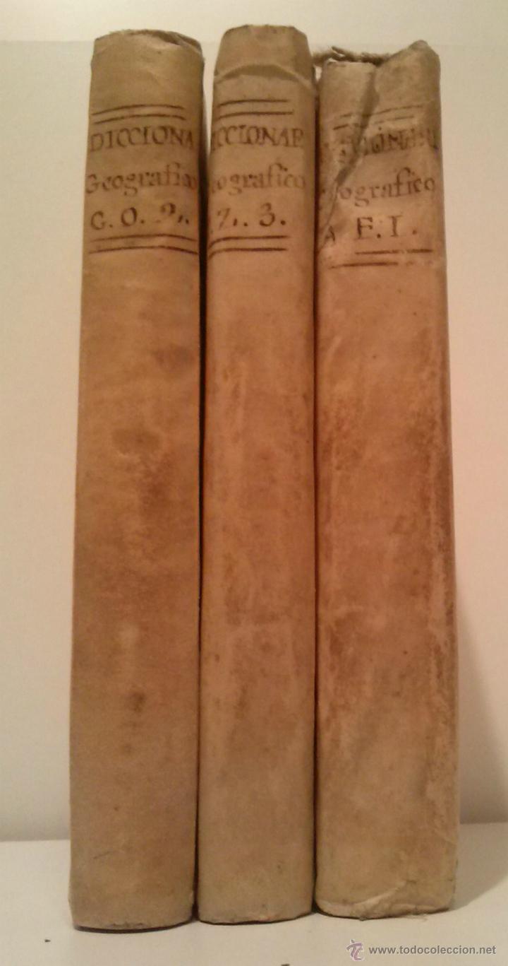DICCIONARIO GEOGRAFICO UNIVERSAL - 4ª. EDICION - D. ANTONIO MONTPALAU - MADRID MDCCLXXXIII (1783) (Libros Antiguos, Raros y Curiosos - Diccionarios)