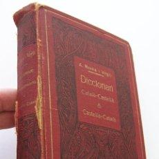 Diccionarios antiguos: 1913 ROVIRA I VIRGILI DICCIONARIO CATALA - CASTELLA - CATALA 1ª EDICION . Lote 45216085