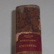 Diccionarios antiguos: D. NICOLÁS MARÍA SERRANO. DICCIONARIO UNIVERSAL DE LA LENGUA CASTELLANA. TOMO I. A. RM67626. . Lote 47019708