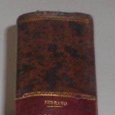 Diccionarios antiguos: D. NICOLÁS MARÍA SERRANO. DICCIONARIO UNIVERSAL DE LA LENGUA CASTELLANA. TOMO VII. H-I-J. RM67630.. Lote 47019893