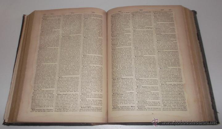 Diccionarios antiguos: D. NICOLÁS MARÍA SERRANO. Diccionario Universal de la Lengua Castellana. Tomo VII. H-I-J. RM67630. - Foto 4 - 222970207