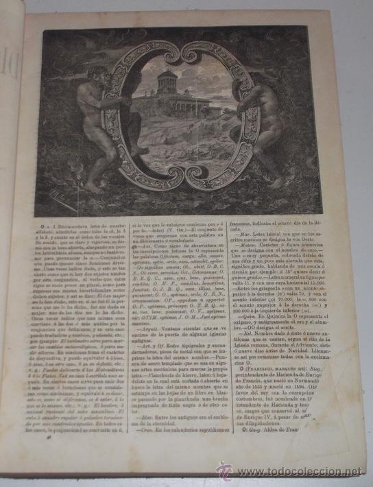 Diccionarios antiguos: D. NICOLÁS MARÍA SERRANO. Diccionario Universal de la Lengua Castellana. Tomo X. O-P-Q. RM67632. - Foto 3 - 222970312
