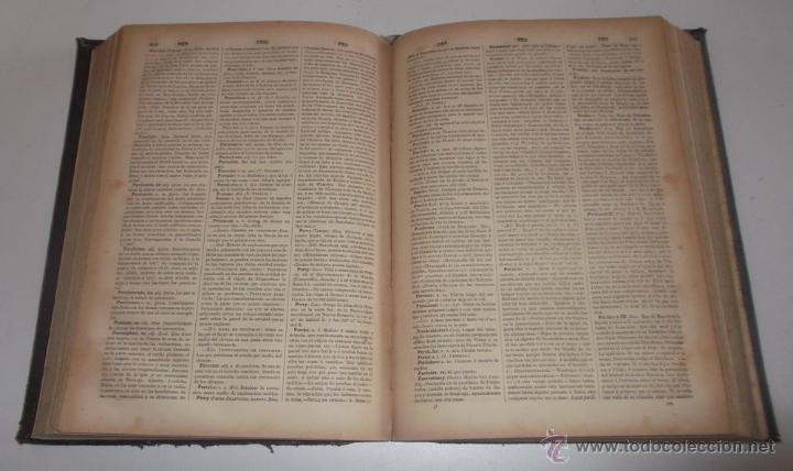 Diccionarios antiguos: D. NICOLÁS MARÍA SERRANO. Diccionario Universal de la Lengua Castellana. Tomo X. O-P-Q. RM67632. - Foto 4 - 222970312