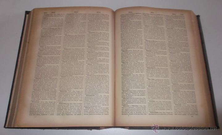 Diccionarios antiguos: D. NICOLÁS Mª SERRANO. Diccionario Universal de la Lengua Castellana. Tomo XIII. V-W-X-Y-Z. RM67634. - Foto 4 - 222970473