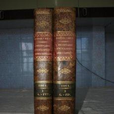 Diccionarios antiguos: GASPAR Y ROIG. DICCIONARIO ENCICLOPEDICO DE LA LENGUA ESPAÑOLA, MADRID 1864.. Lote 47565875