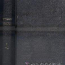 Diccionarios antiguos: DICCIONARIO INDUSTRIAL. TOMO 6. T-Z. A-INCOMP-125. Lote 47719299