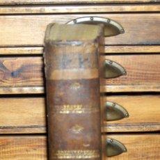 Diccionarios antiguos: DICCIONARIO ESPAÑOL LATINO,MANUEL DE VALBUENA, 1822, IMPRENTA NACIONAL. Lote 47760097
