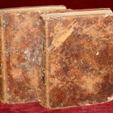Diccionarios antiguos: DICCIONARIO ESPAÑOL FRANCES (2 TOMOS) COMPLETO. AÑO 1803. LIBRERÍA BRUYSET. Lote 48265289
