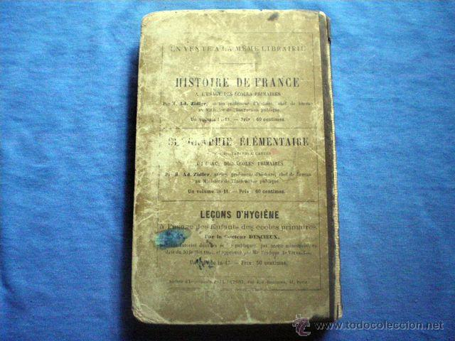 Diccionarios antiguos: DICCIONARIO DES HUIT MILLE VERBES USUELS 1884 8ª EDICION BESCHERELLE EN FRACES PAUL DUPONT EDITOR - Foto 3 - 48286991