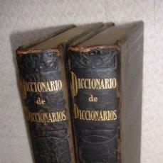 Diccionarios antiguos: DICCIONARIO DE DICCIONARIOS, ARTURO MASRIERA. Lote 48357081