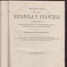 Diccionarios antiguos: DICCIONARIO FRANCES-ESPAÑOL-NEMESIO FERNANDEZ CUESTA-TOMO II-1886-BARCELONA-LD15. Lote 48607519