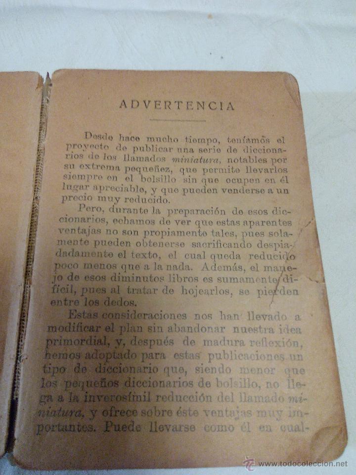 Diccionarios antiguos: DICCIONARIO iter DE LA LENGUA ESPAÑOLA 1933.ditorial ramon sopena s.l. barcelona - Foto 4 - 49030951