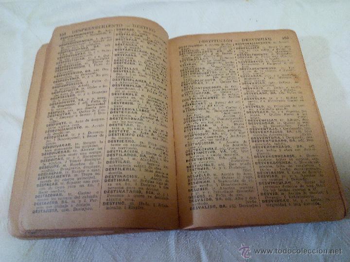 Diccionarios antiguos: DICCIONARIO iter DE LA LENGUA ESPAÑOLA 1933.ditorial ramon sopena s.l. barcelona - Foto 5 - 49030951