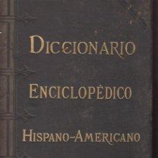 Diccionarios antiguos: DICCIONARIO ENCICLOPEDICO HISPANO-AMERICANO-TOMO V ILUSTRADO-952 PAGINAS-AÑO 1890-LETRA LD27. Lote 49242400