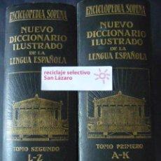 Diccionarios antiguos: : NUEVO DICCIONARIO ILUSTRADO DE LA LENGUA ESPAÑOLA-EDIT. SOPENA-AÑO 1931-BCN- 2 TOMOS LD35. Lote 49443830