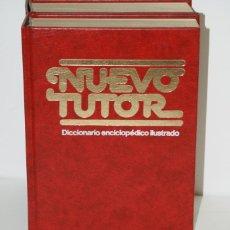 Diccionarios antiguos: NUEVO TUTOR - LOS DOS TOMOS. Lote 49613130