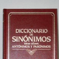 Diccionarios antiguos: SINÓNIMOS, IDEAS AFINES, ANTÓNIMOS Y PARÓNIMOS- EDICIÓN 1989- CULTURAL S.A. EDICIONES. Lote 49613839