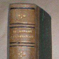 Diccionarios antiguos: SUCKAU, E. DE: NOUVEAU DICTIONNAIRE LATIN-FRANÇAIS. 1865. Lote 49670252