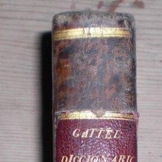 Diccionarios antiguos: DICICONARIO INGLES ESPAÑOL 1803. Lote 50822856