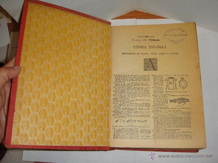 Diccionarios antiguos: PAL-LAS. DICCIONARIO ENCICLOPÉDICO MANUAL EN CINCO IDIOMAS. - Foto 2 - 51582955