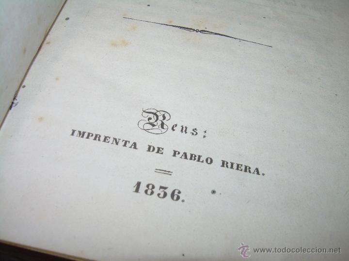 Diccionarios antiguos: ANTIGUO LIBRO TAPAS DE PIEL....DICCIONARIO CASTELLANO - CATALAN.....AÑO.1.836. - Foto 4 - 51741370